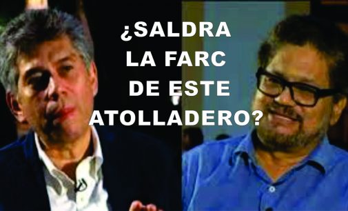 Mirándose de frente, Coronell pregunta Marquez de la FARC, si saldrán de este atolladero?