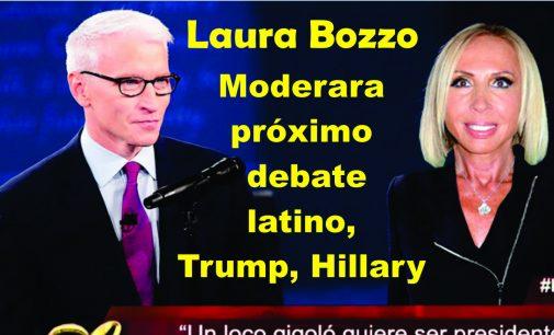 Laura Bozzo, moderara  próximo debate latino, Hillary Trump