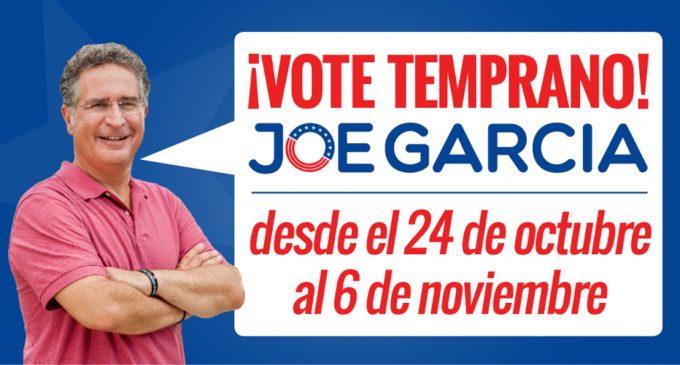 Obama endorsa a votar anticipadamente por Joe García