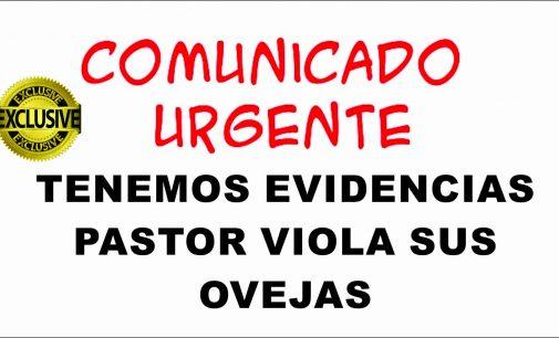 Tenemos evidencias grafica Pastor viola las ovejas