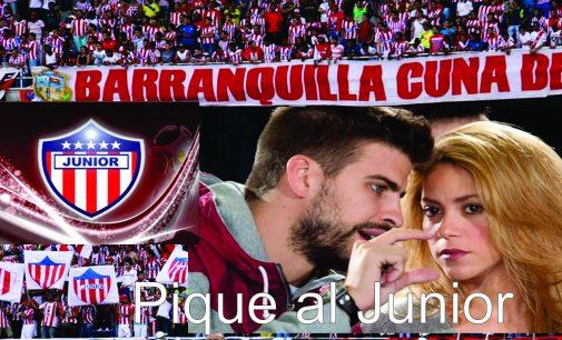 Shakira inicia negociaciones para traer a Piqué al Junior