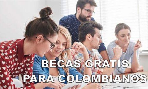 Colombianos  becas gratis para estudiar en el exterior