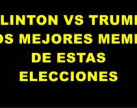 Clinton vs Trump: los mejores memes de las elecciones