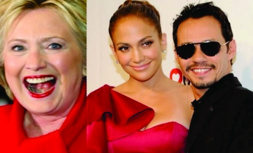 Joe Gacia abrió concierto de Jennifer Lopez para  Hillary Clinton