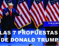 Las 7 propuestas de Donald Trump