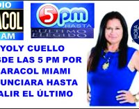 Yoly Cuello desde las 5 pm por Caracol Miami anunciara hasta el último elegido