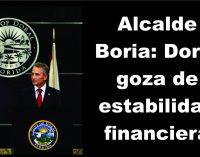 Alcalde Boria: Doral goza de estabilidad financiera