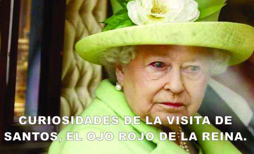Lo más curioso de la visita de Juan Manuel Santos a la realeza británica