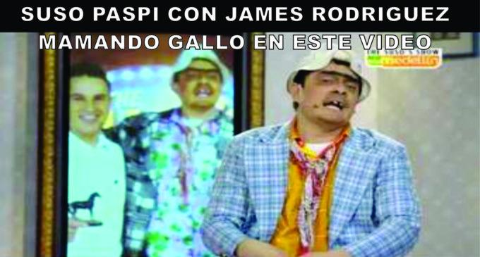 James Rodriguez en Susos Show, ver como le maman gallo jajaja