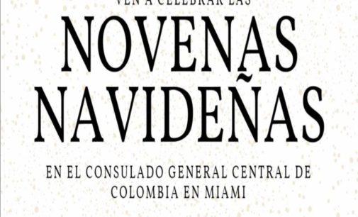 Novena de navidad hoy en el consulado de Colombia de 5.30 a 8.pm