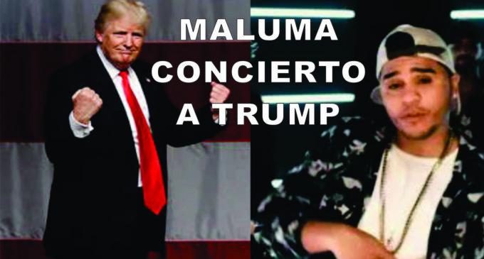 """Maluma invitado a posesión de Trump para cantar """"Cuatro babys"""""""