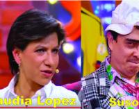 """Claudia Lopez en The Suso's Show """"el cuento del ternero"""" y mas."""