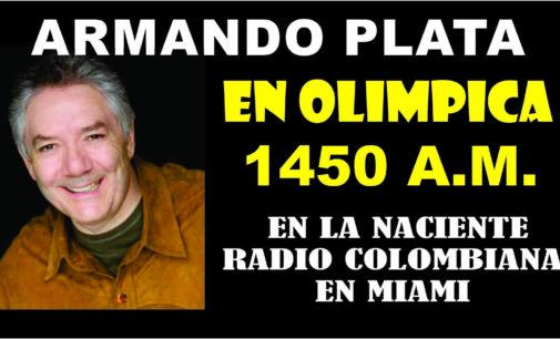 Armando Plata Camacho también esta en la naciente Radio Miami 1450 a.m.