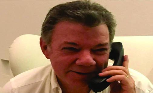 Trump invitó a Santos a la Casa Blanca y revalido su apoyo al proceso de paz.