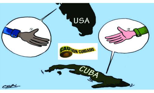Cuidado!. Cubanos con residencia al viajar a Cuba, video de Univision