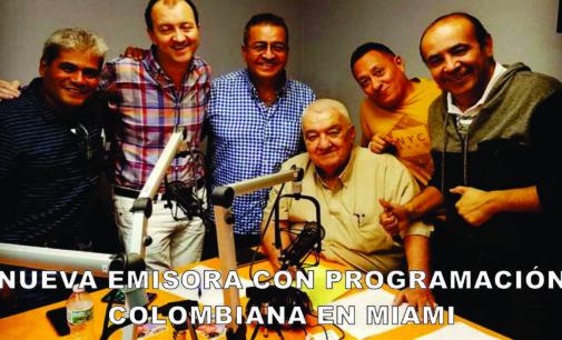 Naciendo nueva emisora con programación colombiana en Miami