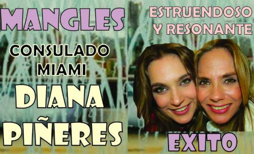 """Diana Piñeros con su obra """"Mangles"""" se llevaron estruendoso éxito del Consulado de Miami"""