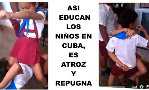Asi adoctrinan los niños en Cuba, es espeluznante