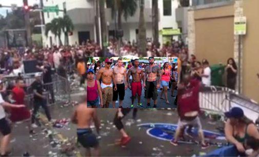 Con esta pelea termino el Festival de la Calle 8 en Miami