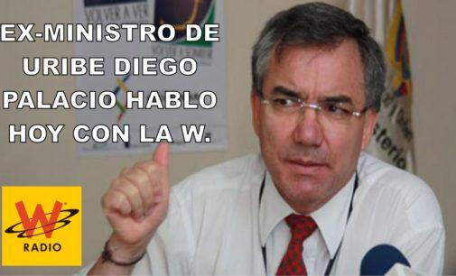 Ex-ministro de Uribe Diego Palacio hablo hoy con la W.