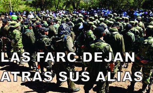 Las Farc dejan atrás sus alias