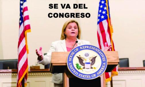 Se retira Ros-Lehtinen del congreso, fue muy deferente con los colombianos,