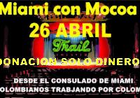 Colombianos este 26 de abril llegue con su donación al Teatro Trail para Mocoa