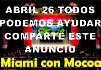 Abril 26 todos podemos ayudar a Mocoa, comparte este anuncio