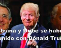 Pastrana y Uribe se habrían reunido con Donald Trump