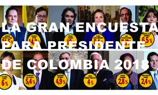 Tenemos la gran escueta para presidente de Colombia, los que se quedan y se desinflan para el 2018