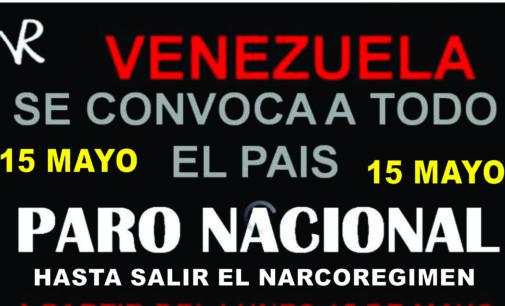 Madres del mundo, apoyemos a Venezuela  comparte este correo  ( PARO NACIONAL HASTA QUE CAIGA)