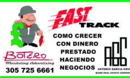 Alvaro Botero en Miami, le consigue dinero, para nueva manera de hacer negocios con dinero prestado 305 725 6661
