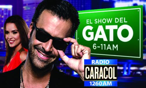 Otro colombiano que no estara en Caracol Miami, sacaron al Gato, lo supliera Yoli  Cuello?