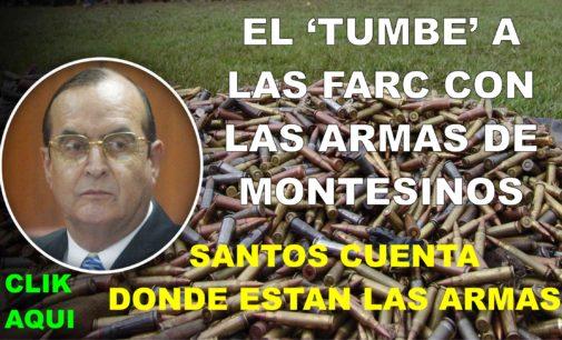 Santos conto: donde estan las armas de Montesinos. La tumbada