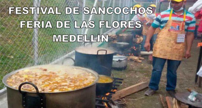 Festival de sancochos hoy en el inicio de la feria de las Flores de Medellin