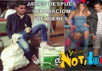 James despues de la particion de bienes con Daniela , exclusiva del Notiloco