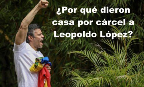 ¿Por qué dieron casa por cárcel a Leopoldo López?