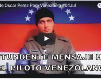 Aparecio el piloto venezolano diciendo que va por la segunda parte.