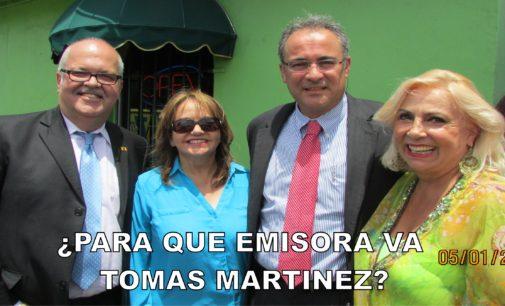 Para que emisora va Tomas Martines de actualidad radio 1040?