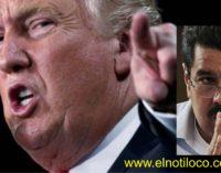 Trump en persona llama dictador a Maduro, congela sus bienes en EEUU y va por la constituyente.