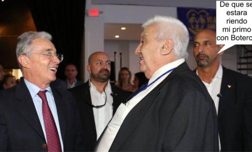 Lugares de reunión de colombianos en el mundo, amigos de Uribe