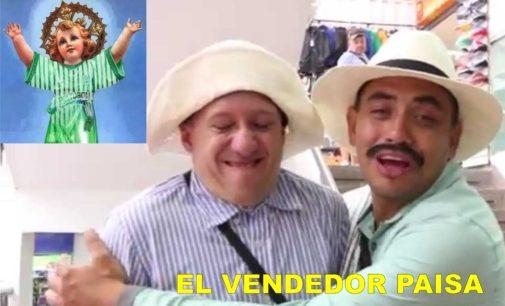 Porque Dios acabo de hacer el mundo y se fue a descansar a Medellin