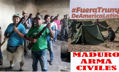 Videos fotos como Maduro esta armando al pueblo,  para derrotar a Trump