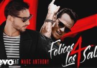 Maluma – Felices los 4 (Salsa Version)[Official Video] ft. Marc Anthony
