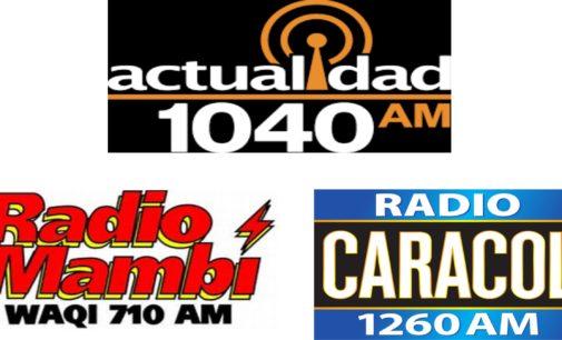 Actualidad Radio 1040: AM la emisora mas escuchada por encima Radio Mambí y Caracol Radio 1260 AM.