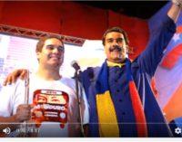 Hijo de Maduro muestra fotos, como se tomaran la Casa Blanca