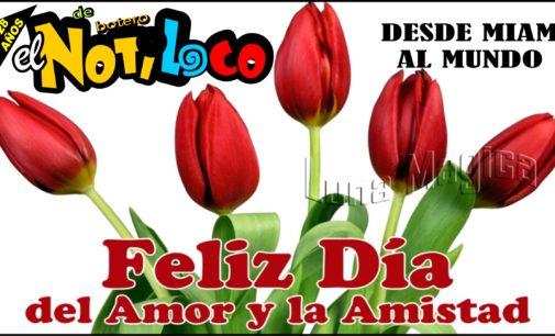 Hoy  es el dia del amor y la amistad en Colombia .