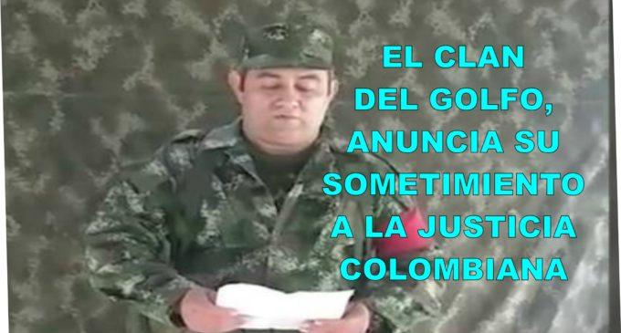 Video con el que Clan del Golfo anuncia su sometimiento a la justicia colombiana