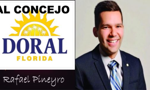 Rafael Pineyro joven venezolano busca el consejo del Doral  entrevista , Jaime Bayly,