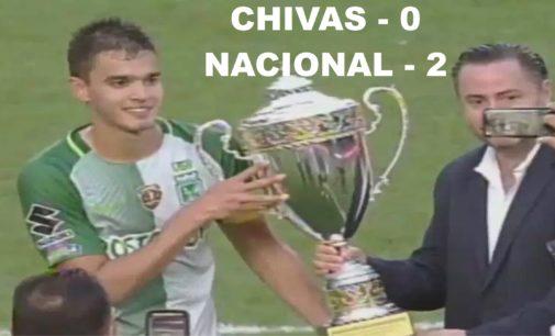 Atletico Nacional  gano la Super Copa de Campeones Chiva pierde  0 – 2